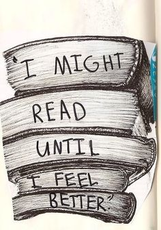 I will never stop reading.