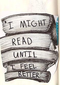 Leer hasta sentirme mejor. #SomosLectores