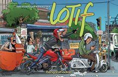 Lotif Ngetwit | karya Beng Rahadian | Penerbit Cendana Art Media | Komik Indonesia | comic | comicstrip