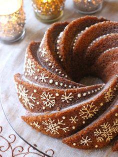 Baking Recipes, Cake Recipes, Incredible Edibles, Christmas Baking, Coffee Cake, Let Them Eat Cake, No Bake Cake, Sweet Recipes, Cake Decorating