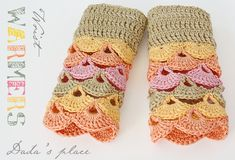 Dadas place: Wrist warmers - link to the free pattern