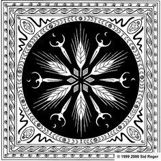 Lammas/Lughnasadh Mandala