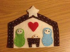 Nativity scene made by my Sister xx