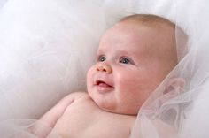 Not only is this baby so cute but if you click him you get a tidbit about your baby's smile :)