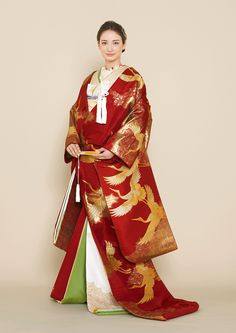 Traditional Wedding Attire, Traditional Dresses, Japanese Outfits, Japanese Fashion, Rental Wedding Dresses, Dress Rental, Geisha, Wedding Kimono, Couture Details
