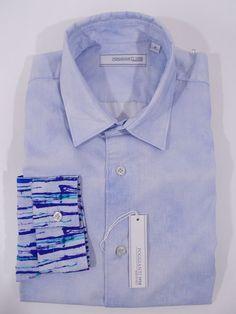 NWT POGGIANTI 1958 camicia uomo COTONE manica lunga P/E 2016 tg. S-M-L-XL-XXL
