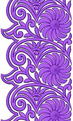 Machine Embroidery Lace Designs