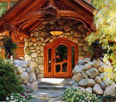 Entryway of my Lake Tahoe home!!!