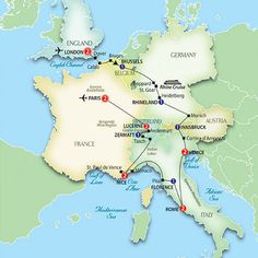 Europe Travel: sounds amazing -- don't care so much for the site, but the route?