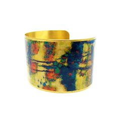 50% OFF SALE JEWELRY - Valentines Gift - Brass Cuff Bracelet - Statement Bracelet - Artistic Jewelry - Limited Edition - Elegant Bracelet