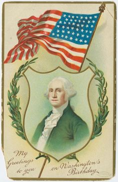 George Washington & flag
