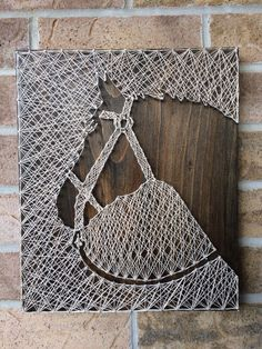 A personal favorite from my Etsy shop https://www.etsy.com/ca/listing/491949178/reverse-string-art-horse