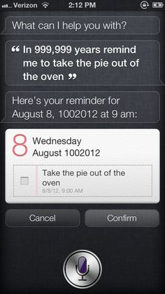 How Far In The Future Can Siri Set Reminders? #ZAGGdaily #Siri #reminders