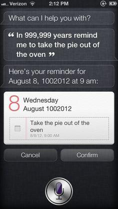 How Far In The Future Can Siri Set Reminders? #ZAGGdaily #Siri #reminders