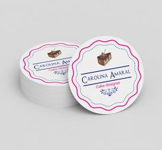 Identidade Visual Carolina Amaral Cake Designer de Bolo