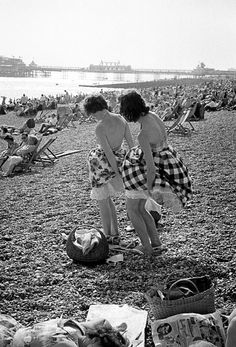 Brighton England 1960  Photo: Frank Horvat