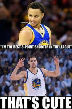 RT @NBAMemes: Klay Thompson WINS the 3-point competition. #AllStarWeekend  Sorry, Stephen Curry. - http://nbafunnymeme.com/nba-funny-memes/rt-nbamemes-klay-thompson-wins-the-3-point-competition-allstarweekendsorry-stephen-curry