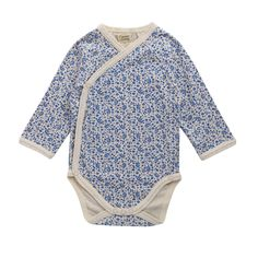 Cotton Long Sleeve Kimono Bodysuit   Natural Organic Bio Baby Products: Organic Cotton & Merino Wool