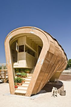 This is a HOUSE. A smallllll freaking house but a house none-the-less. MisoSoupDesign  fablab house
