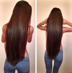 Long Brunette Hair