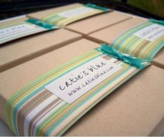 easy personalization for packaging
