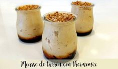Recipe, step by step. Mousse, Pan Dulce, Sorbet, Sweet Recipes, Creme, Delish, Food And Drink, Gluten Free, Pudding