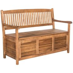 Teak Brown Outdoor Garden Bench With Storage from The Well Appointed House Wicker Table, Wicker Furniture, Outdoor Furniture, Wicker Dresser, Wicker Couch, Wicker Trunk, Furniture Update, Wicker Mirror, Furniture Storage