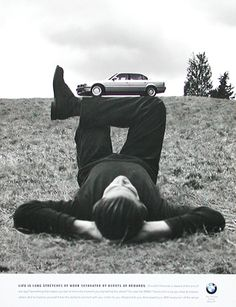 love this ad - for BMW, shot by Rodney Smith