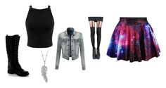 """""""Lumi"""" by ohwhatshername on Polyvore featuring Miss Selfridge, LE3NO, Nature Breeze, Pretty Polly and Penny Preville"""