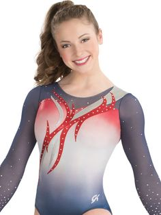 Soaring Flame Sublimated Leotard from GK Elite