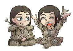 Farkas and Vilkas : I can't be the only one who finds this Ridiculously adorable?!