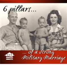 We asked and our military spouse community answered with the things they believe to be the pillars of a strong military marriage!