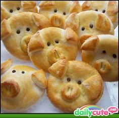 Pig pies...my kids would love these!