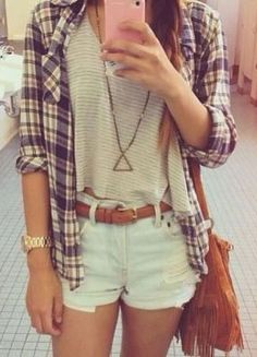 I'm dreaming of warmer weather so I can wear an outfit like this.