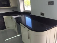 This spectacular Black Quartz Kitchen worktop is one of our most popular colours, it is Black with mirror flecks throughout. Make your worktop the statement piece in your kitchen. See the product here: Nero Stella Quartz Rock, Black Quartz, Kitchen Worktop, Kitchen Appliances, Work Tops, Granite, Worktop Ideas, Urban, Home Decor