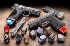 Taran Tactical Innovations basepads for Glock and M by Taran Butler.