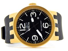 Mens #invicta watch only $84.99! Black Rubber, Clock, Rose Gold, Stainless Steel, Watches, Men, Watch, Wristwatches, Clocks