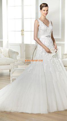 Primavera 2014 Elegante Cristal detallando Vestidos de Novia 2014