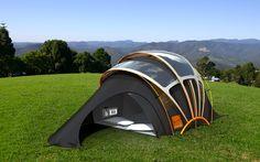 Orange's Solar Concept Tent - http://newsroom.orange.co.uk/2009/06/22/orange-pitches-glastonbury-solar-concept-tent