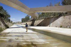 italización del cauce del río vinalopó . elche Grupo Aranea