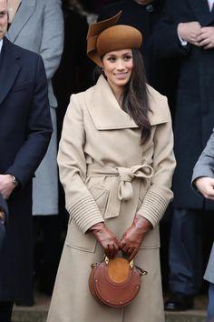 Meghan Markle Hat Mit Der Britischen Königsfamilie Und Ihrem Ehemann In Spe  Weihnachten Gefeiert. Auf