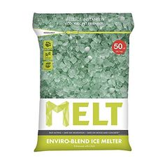 Snow Joe MELT50EB MELT 50 Lb Resealable Bag Premium EnvironmentallyFriendly Blend Ice Melter w CMA 4 ** Click image for more details.