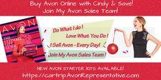 ~ Shop Avon Online with Avon Rep. Cindy --> Direct Delivery to your home. Avon Products, Avon Online Shop, Buy Makeup Online, Avon Sales, Online Campaign, Avon Catalog, Shops, Beauty Sale, Avon Representative