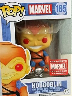 Funko Pop! Marvel Hobgoblin Collector Corps Year One Excl...