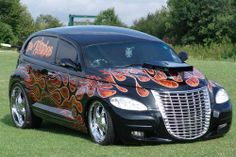 PT Cruiser Conversion Chrysler Pt Cruiser, Chrysler Usa, Pt Cruiser Accessories, Carros Retro, Cruiser Car, Subaru, Cruiser Boards, Chrysler Crossfire, Car Man Cave
