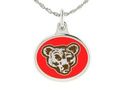 Cornell Big Red jewelry and charms made in solid sterling silver with enameled background. Cornell charms can be worn on a chain or dangle them from a bracelet. $49
