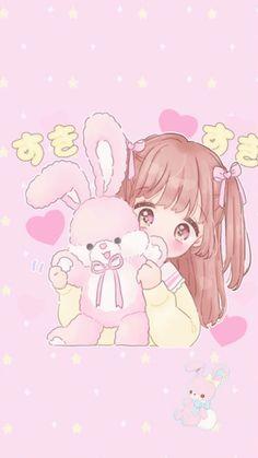 Kawaii anime, kawaii anime girl ve kawaii chibi. Kawaii Anime Girl, Art Kawaii, Loli Kawaii, Cute Anime Chibi, Kawaii Chibi, Anime Girl Cute, Anime Art Girl, Anime Girl Pink, Cute Anime Wallpaper