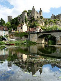 Angles-sur-L'Anglin, Vienne, Poitou-Charentes, France