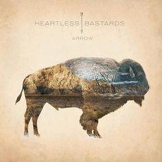 music, album covers, arrows, austin texas, rock, cover art, austin tx, design, heartless bastard