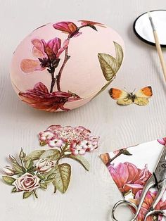 Put old wrapping paper to work - The Cutest Easter Eggs to Decorate with Your Kids - Photos